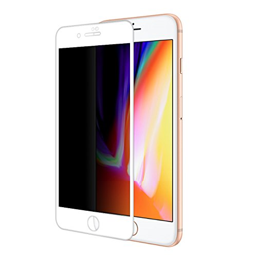 Yutang Explosion Proof Full Cover Film Privacy Anti-Spy Screen Protector(for iPhone 8/8Plus) by Yutang (Image #3)
