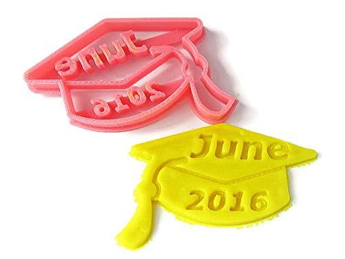 Graduation Cap Custom Cookie Cutter, Personalized with graduate name. Graduation Party - Cookie Personalized Cutters