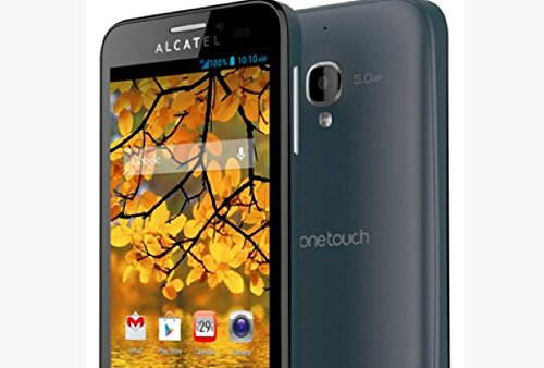 Alcatel One Touch Fierce 4G Android Smartphone Unlocked - Use With Any SIM - Slate ()