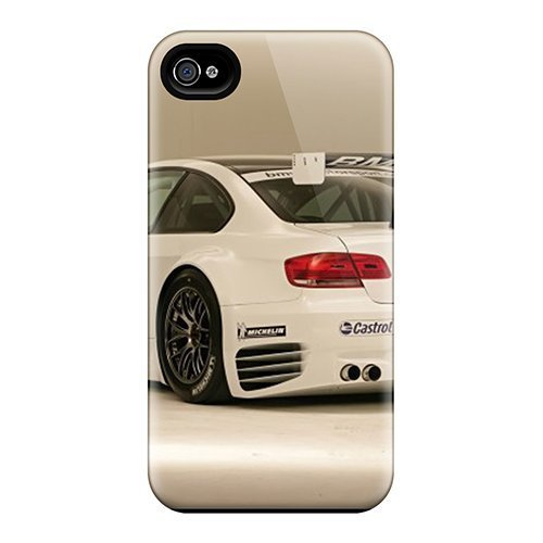 Phone Alm - High Grade Andrws Flexible Tpu Case For Iphone 6 - Bmw M3 Alms Race Car Rear Angle