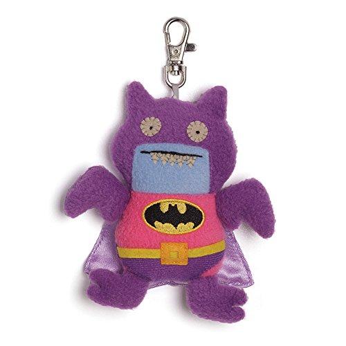 Uglydoll From Gund Dc Comics   Ice Bat Batman Clip Pink Purple