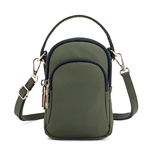 Amazon.com: Bolso de hombro para teléfono móvil para mujer ...