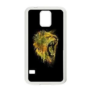 LION DRIP Samsung Galaxy S5 Cell Phone Case White MSU7190745