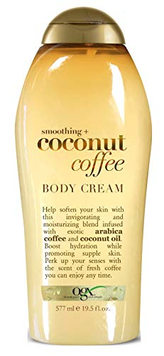 Ogx Body Cream Coconut Coffee 19.5 Ounce (577ml) (2 Pack)