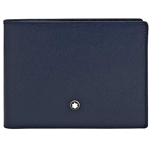 Mont Blanc Meisterstuck Wallet - Montblanc Coin Purse, Marine Blue (Blue) - 114542