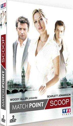 Coffret 2 DVD Woody Allen : Scoop - Match (Match Point)