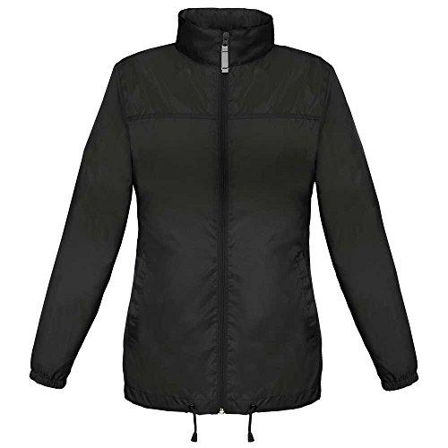 Foldaway Black The B Showerproof Sirocco amp;c Coat Windbreaker Ladies qY8YZwR