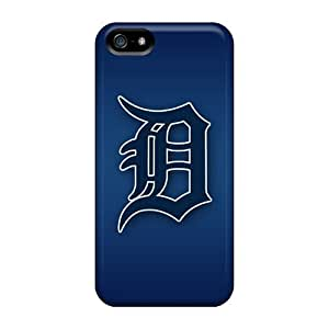 Shock-dirt Proof Detroit Tigers Case Cover For Iphone 5/5s