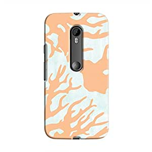 Cover It Up - Pale blue Nature Print Moto G3 Hard case