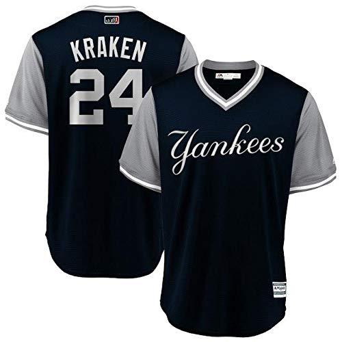Majestic Majestic Gary Sanchez Kraken New B07GFRRHHB Weekend York Yankees【並行輸入品】 Navy/Gray 2018 Players' Weekend Cool Base Jersey スポーツ用品【並行輸入品】 S B07GFRRHHB, ビーエックス オンラインショップ:c6f4571c --- cgt-tbc.fr