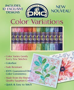 DMC Color Variations Floral Floss Pack - Joann Cross Stitch