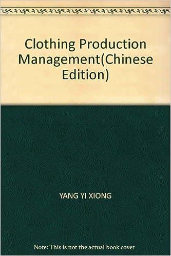 Clothing Production Management(Chinese Edition)