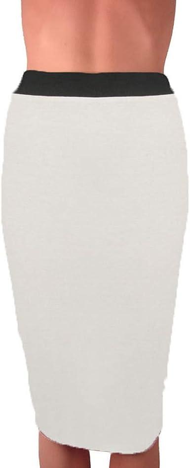 Vectry Faldas Mujer Moda Ladys Body-con Falda Media Cintura ...