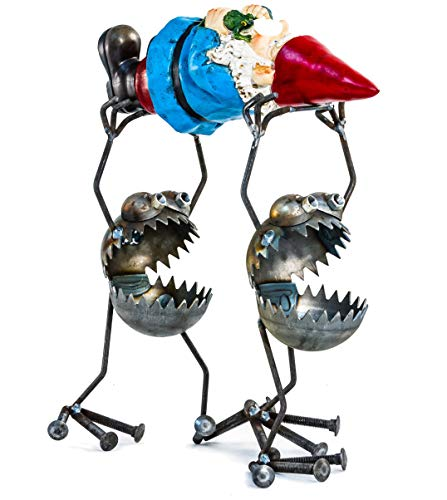 Sugarpost Recycled Metal Gnome-be-Gone Large Gnome -