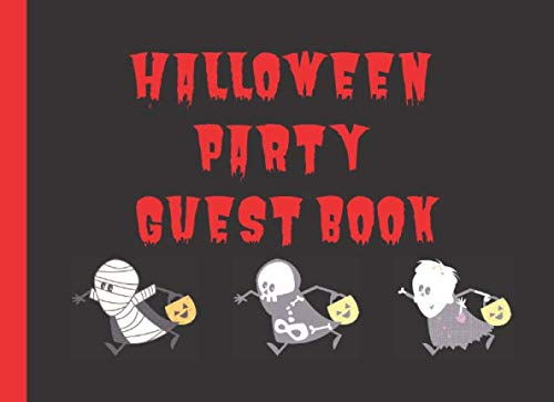 Queens Halloween Parties 2019 (Halloween Party Guest Book: A Great guest book to sign and leave a spooky)