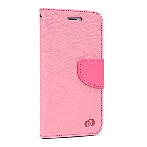 Kroo Flip Folio Wallet for Apple iPhone 6 - Non-Retail Packaging - Magenta (12 South Iphone 6 Plus Dock)