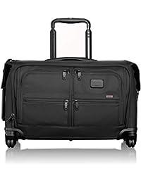 Alpha 2 Carry-On 4 Wheel Garment Bag, Black, One Size