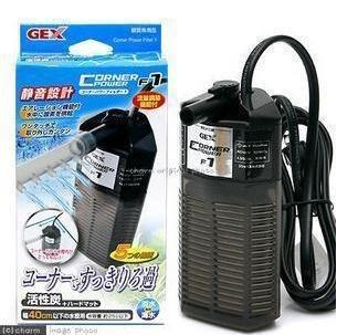 GEX sabores pecera tanque de tortuga acuario integrado filtra F1 (S No.) contiene algodón de carbón activado: Amazon.es: Oficina y papelería
