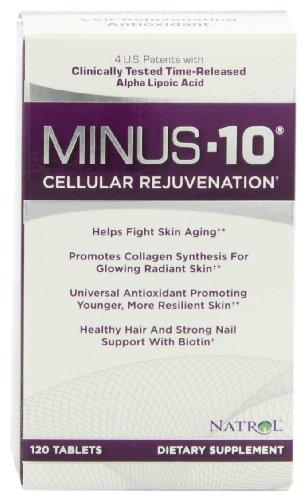 Natrol Minus 10 Cellular Rejuvenation Tablets