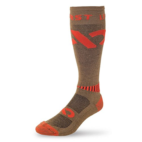 First Lite - Mountain Athlete Triad Sock in Dry Earth MD - Dry - Forest Lake Md
