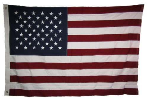 Moon 3x5 ft USA American 50 Star 100% Cotton Flag 3x5 Banner