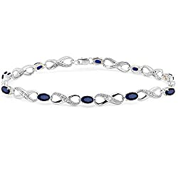 Tennis Bracelet by sterling Silver