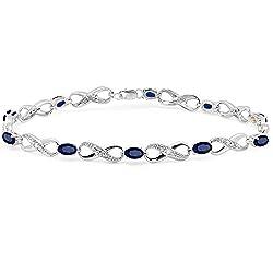 Tennis Bracelet by sterling Silver