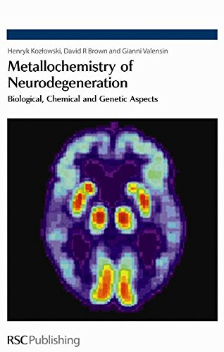 Metallochemistry Of Neurodegeneration  Biological  Chemical And Genetic Aspects