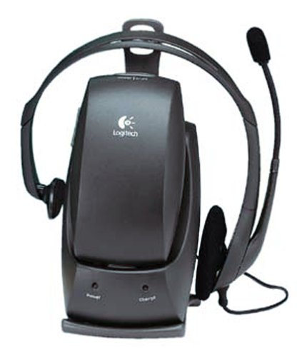 Logitech 980118 Cordless Freedom Headset for Internet Communications with NCAT2 and Boom Microphone by Logitech