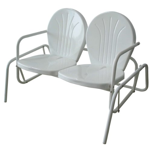 AmeriHOme Double Seat Glider (Wicker Furniture Front Porch)