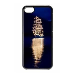 [Tony-Wilson Phone Case] For Iphone 5c -IKAI0448158-Tall Ship