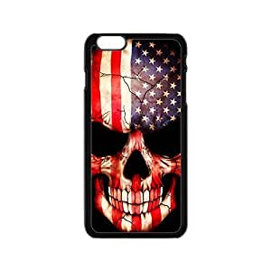 American US.Flag skull Phone Case for iPhone 6