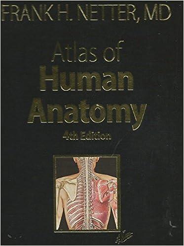 Atlas Of Human Anatomy Frank H Netter 9781416039389 Amazon Books