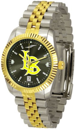California State (Long Beach) Dirtbags Executive AnoChrome Men's Watch by SunTime (Image #1)