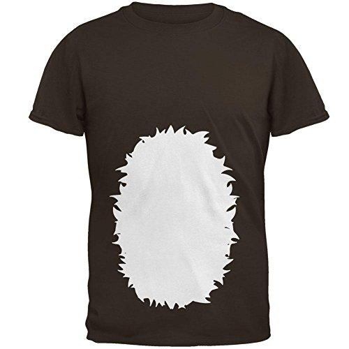 (Old Glory Halloween Baby Deer Fawn Costume Mens T Shirt Brown)