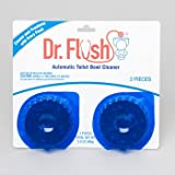 TOILET BOWL CLEANER BLUE TWIN PACK DR. FLUSH CARDED, Case Pack of 12