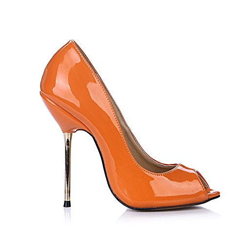 Orange Schuhe Pearl rot der Schuhe High Nachtleben blau Heel Das Fischspitze xqvna6wTBI