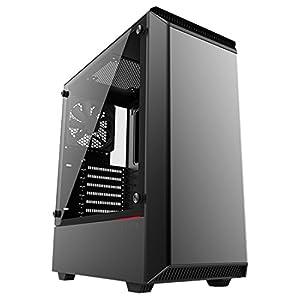 Phanteks Eclipse Steel ATX Mid Tower Tempered Glass Black Cases - PH-EC300PTG_BK