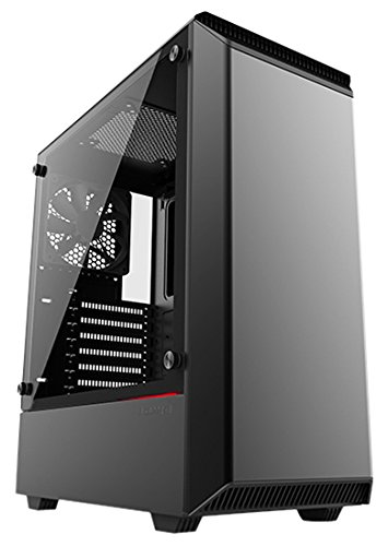 Phanteks Eclipse Steel ATX Mid Tower Tempered Glass Black Cases - PH-EC300PTG_BK