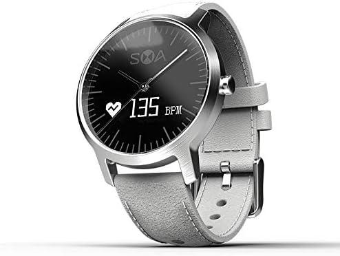 ZGL- La luz Inteligente de los Relojes, pulsómetro no la Profundidad del Agua, Modelo de Moda para Hombres, Negro: Amazon.es: Deportes y aire libre