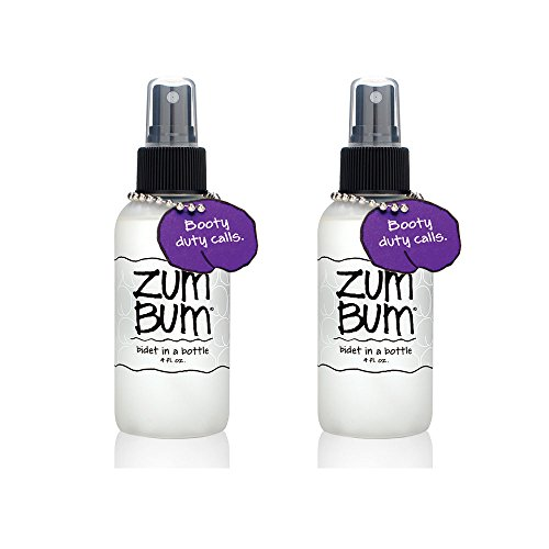 Zum Bum Bidet in a Bottle With Witch Hazel and Pure Essential Oils, 4 fl. oz. (Pack of 2)