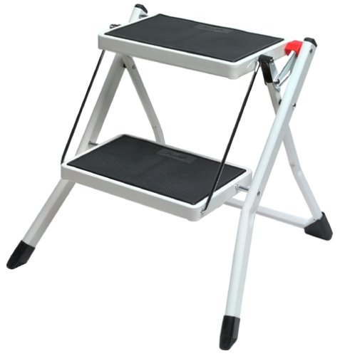 Polder Essential 2-Step Stool, White/Bla - Polder Step Ladders Shopping Results