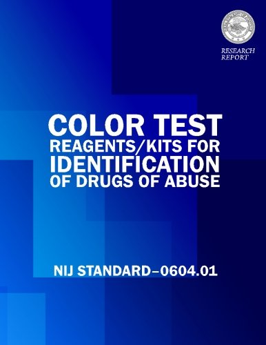 Color Tests Reagents/Kits for Preliminary Identification of Drugs of Abuse