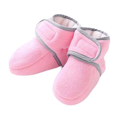 Baumwolle kleine Schuhe Dick warme Winter Baby Schuhe Gummi Sohle Kleinkind Schuhe