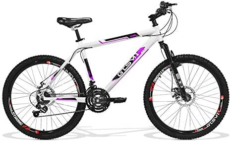 Bicicleta Feminina GTS Aro 26 Freio a Disco Câmbio Traseiro Shimano 21 Marchas e Amortecedor   GTS M1 Walk New