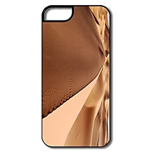 Custom Make Funny Silicone Sand Sea Desert IPhone 5/5s Case For Him