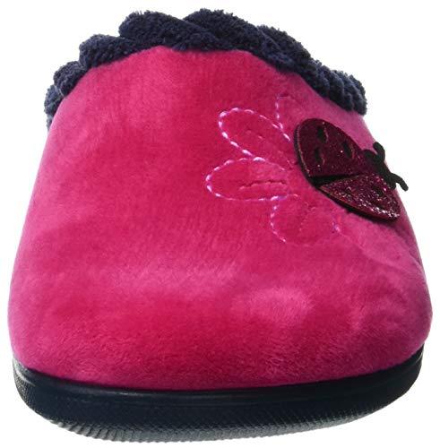 Rosa Fuxia Epoca Donna Retro 005 INBLU sul Pantofole Aperte TdTwY0