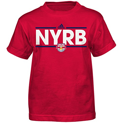 Youth Bull - MLS New York Red Bulls Boys -Dassler Short Sleeve Tee, New Navy, Large (14-16)