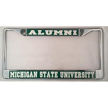 michigan state university alumni license plate frame - Michigan State License Plate Frame