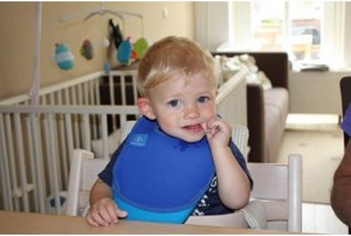Bibetta Baby Bib Ultrabib in Blue Bubbles Design May Vary